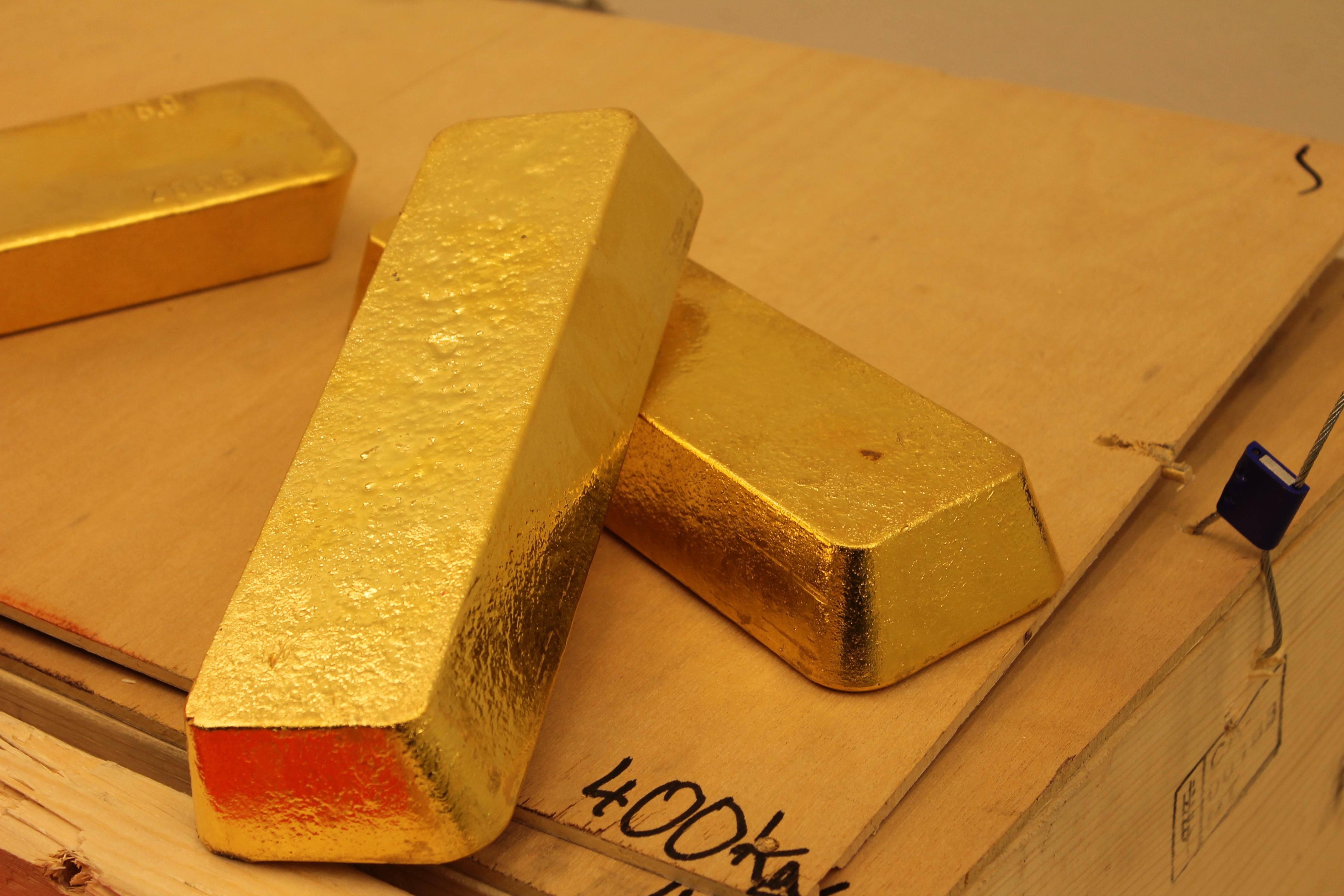 Aranytartalék az MNB-ben
