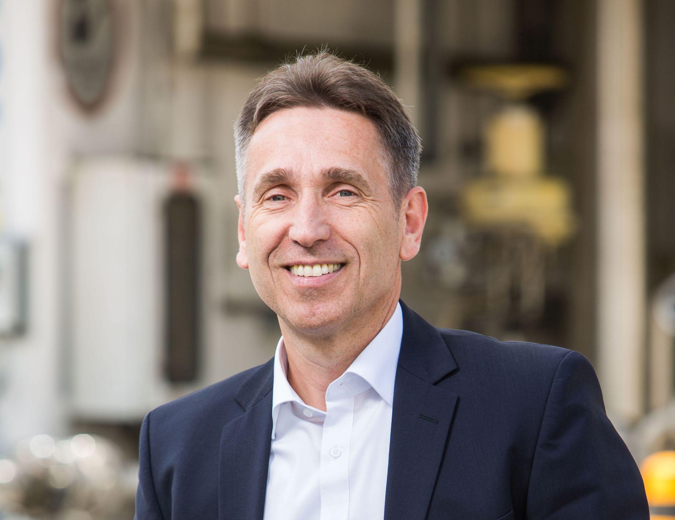 Bohner Zsolt, a Messer Hungarogáz Kft. ügyvezető igazgatója
