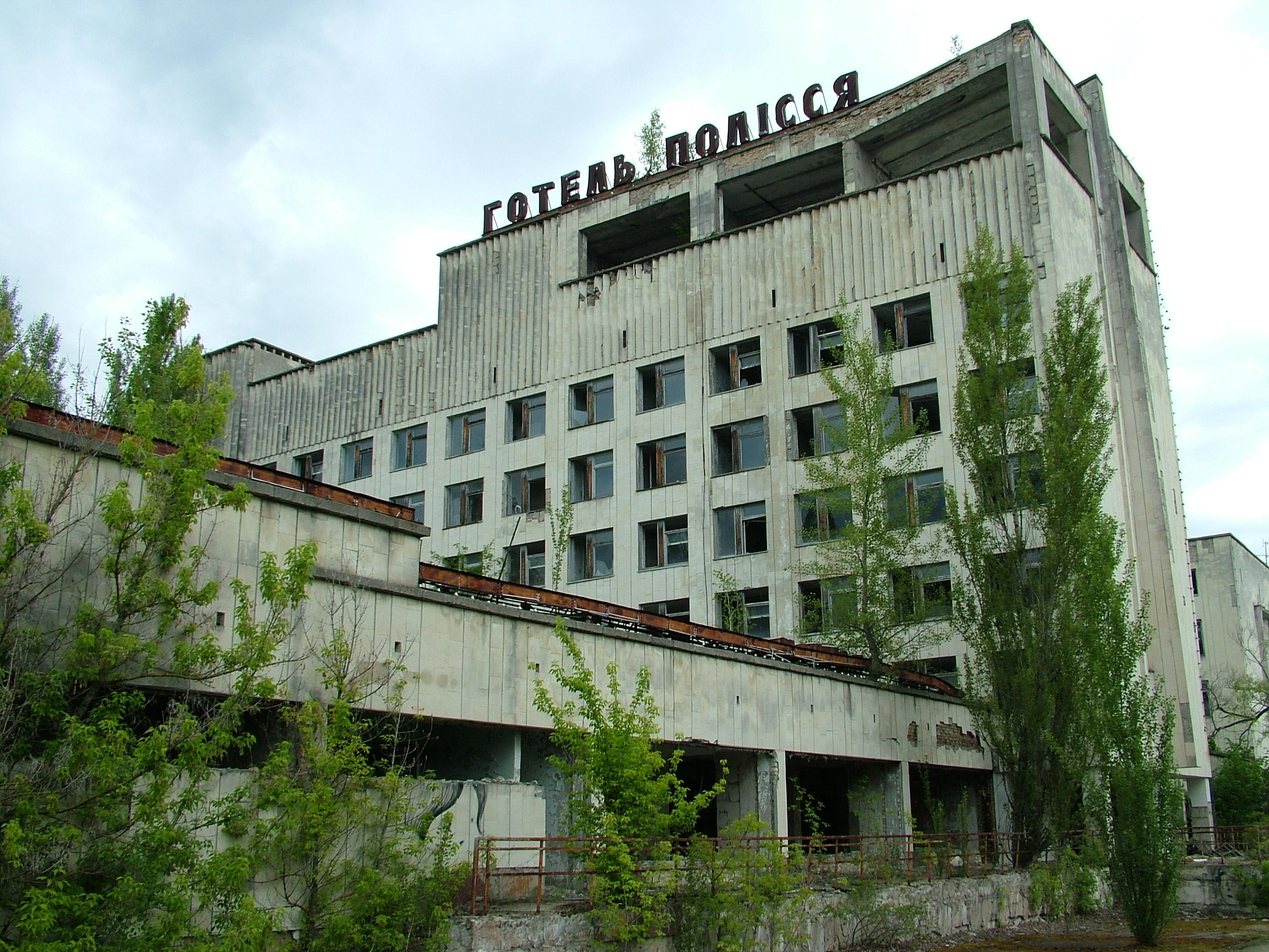 Polissya hotel - csernobil