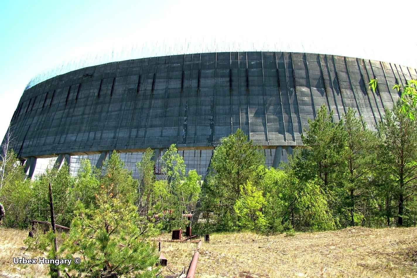 Csernobil, hűtőtorony