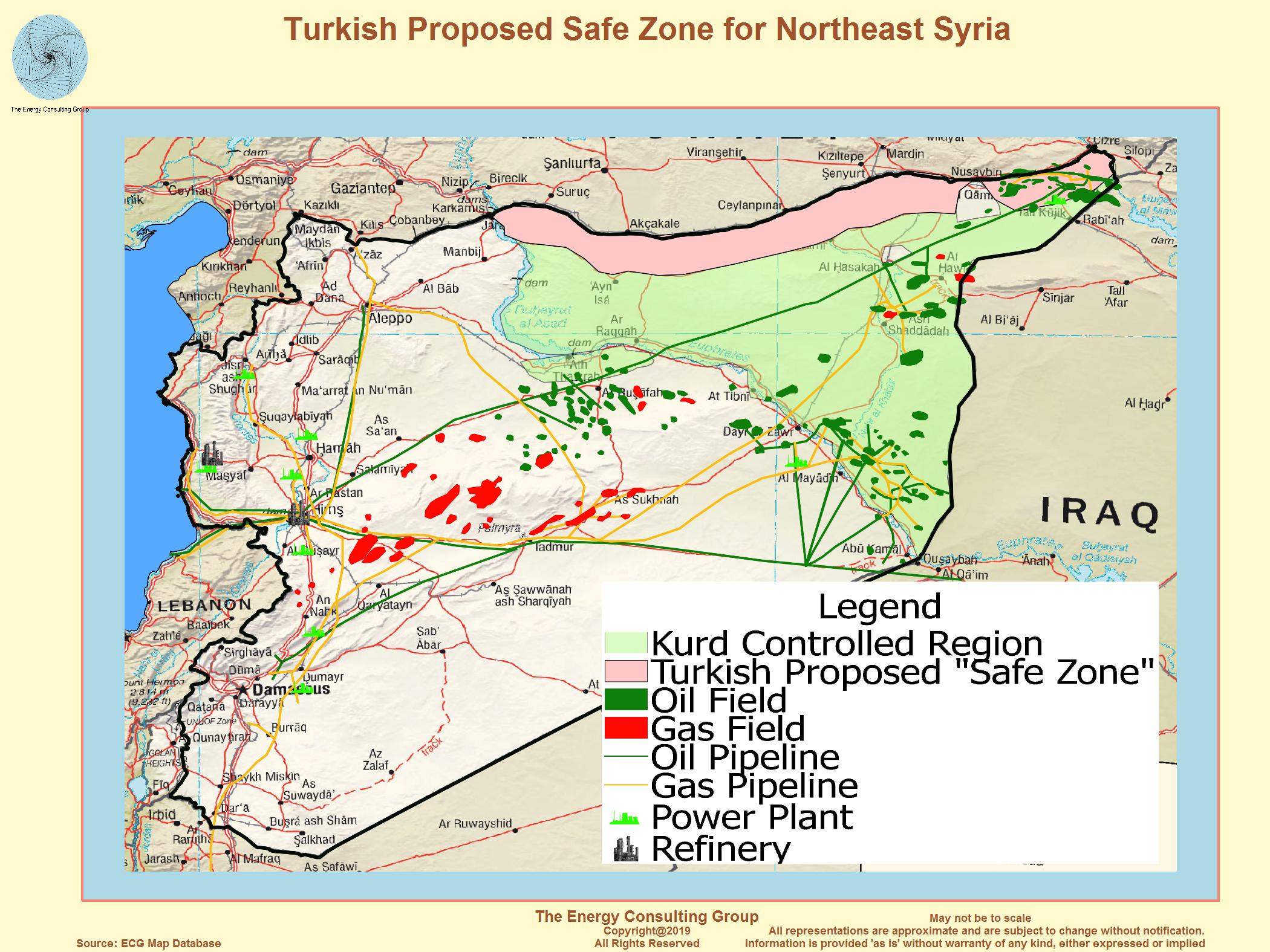 szíriai olajmezők