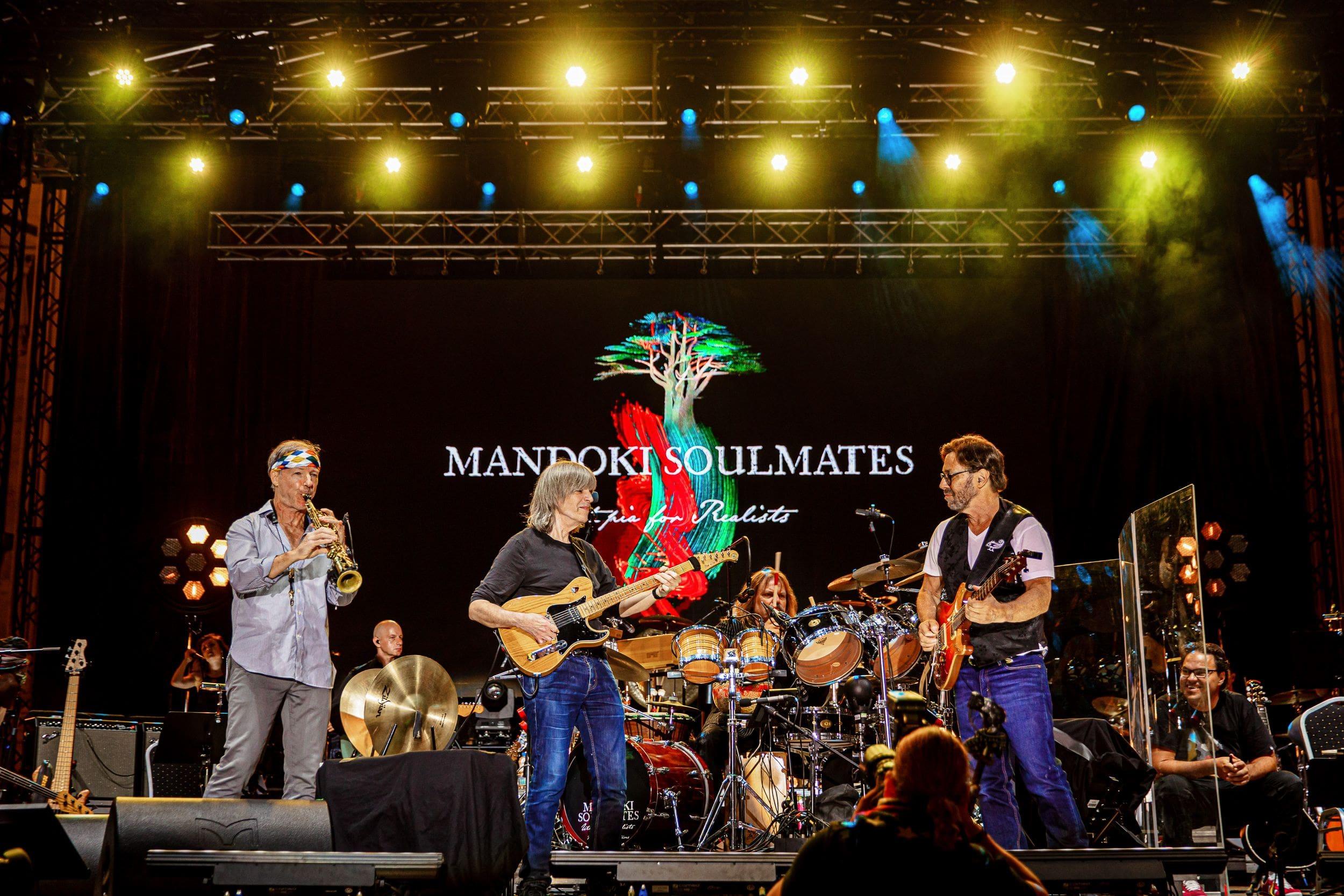 MANDOKI SOULMATES Budapest 2021 Bill Evans & Mike Stern & Leslie & Al di Meola