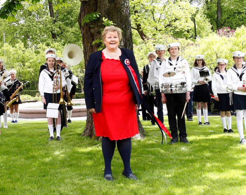 Erna Solberg norvég kormányfő