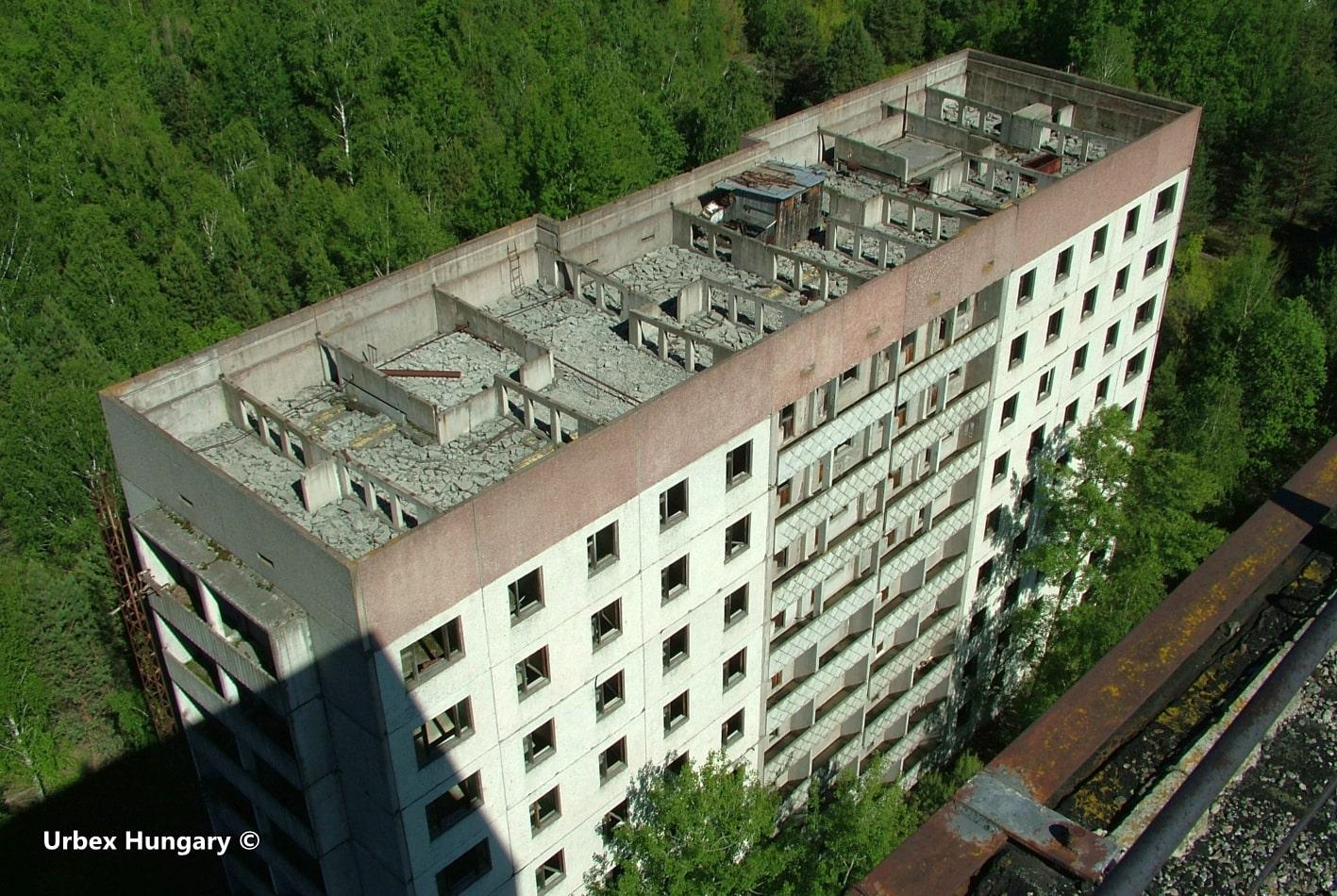 Csernobil, lakótelep