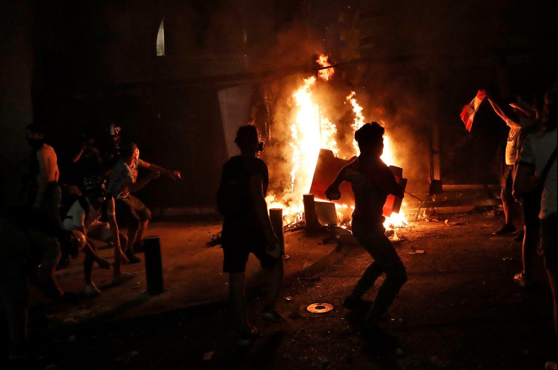 libanoni tüntetés