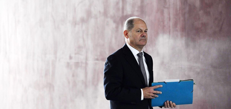 Olaf Scholz, az SPD kancellárjelöltje, jelenlegi pénzügyminiszter