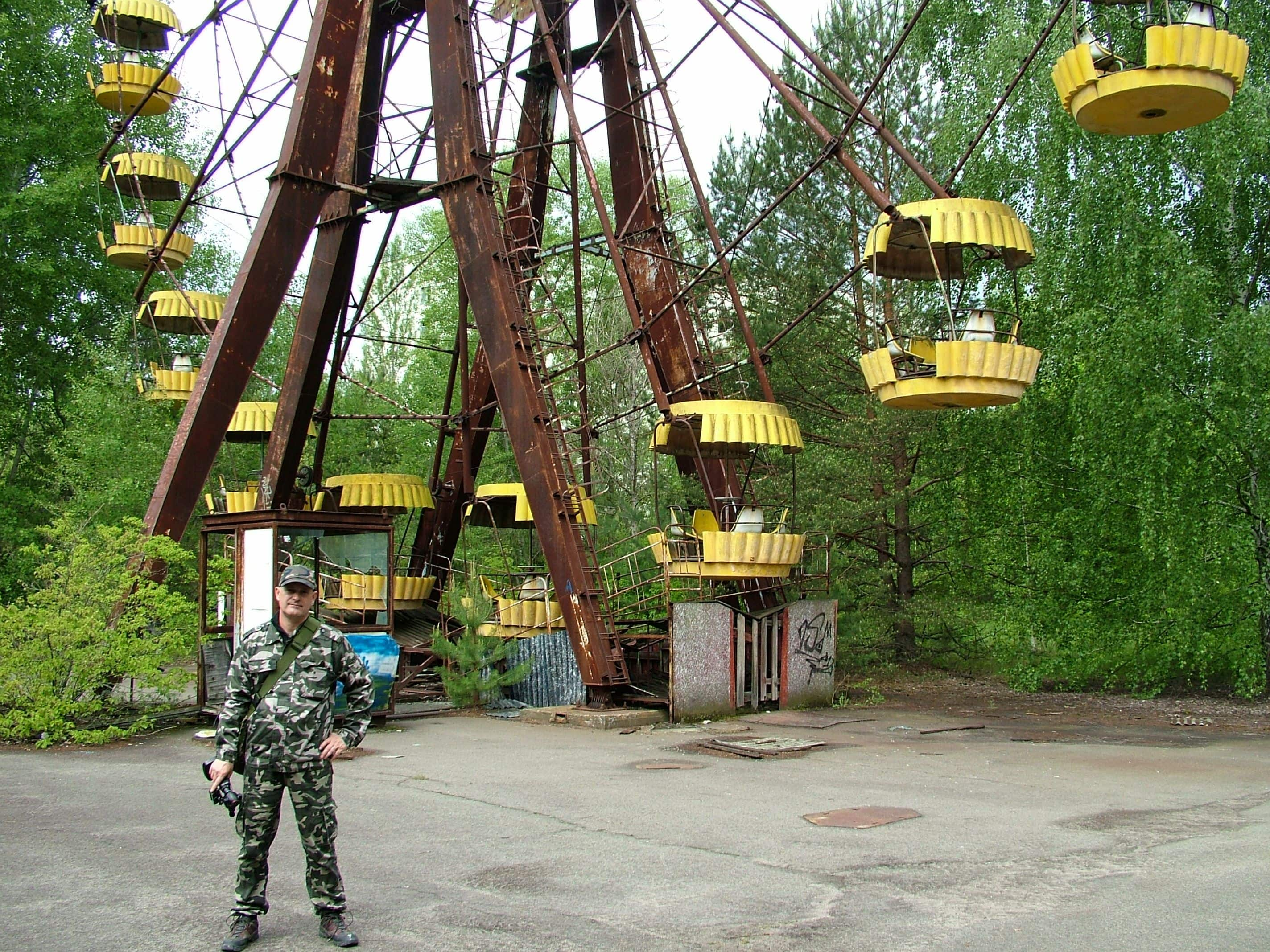 Csernobil, óriáskerék