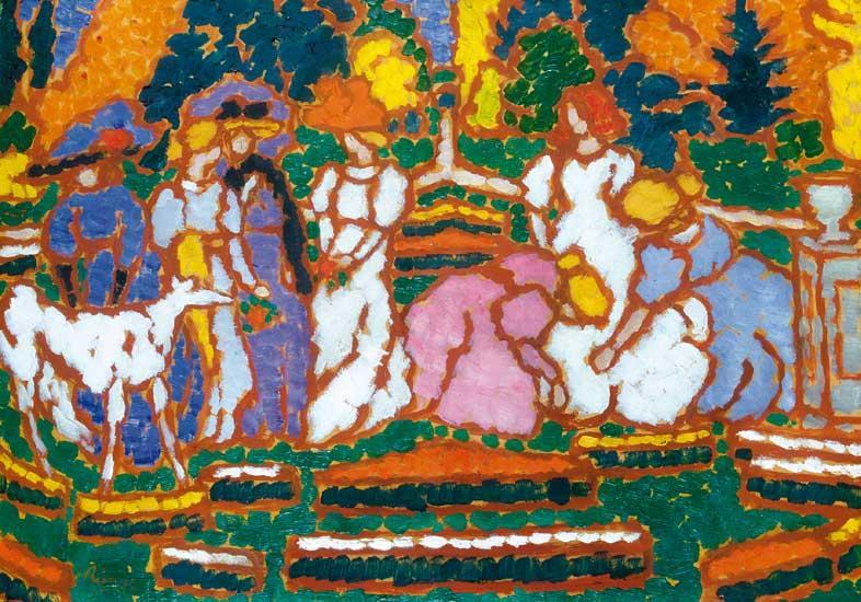 Rippl-Rónai József az egyik legelismertebb magyar festő külföldön
