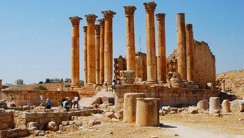 Dzseras, Jordánia