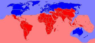 A világgazdaság változó térszerkezete