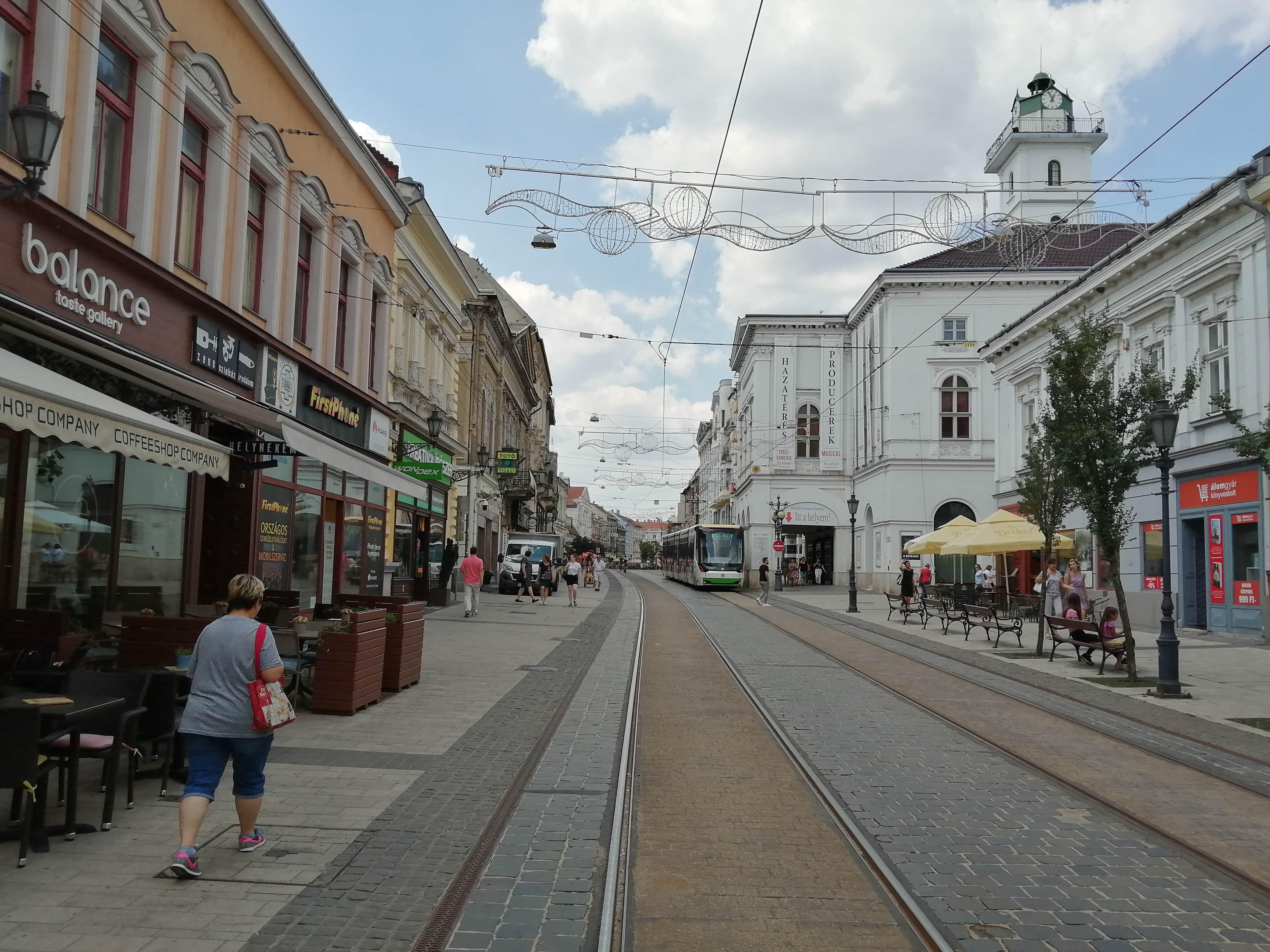 Mikolc belváros