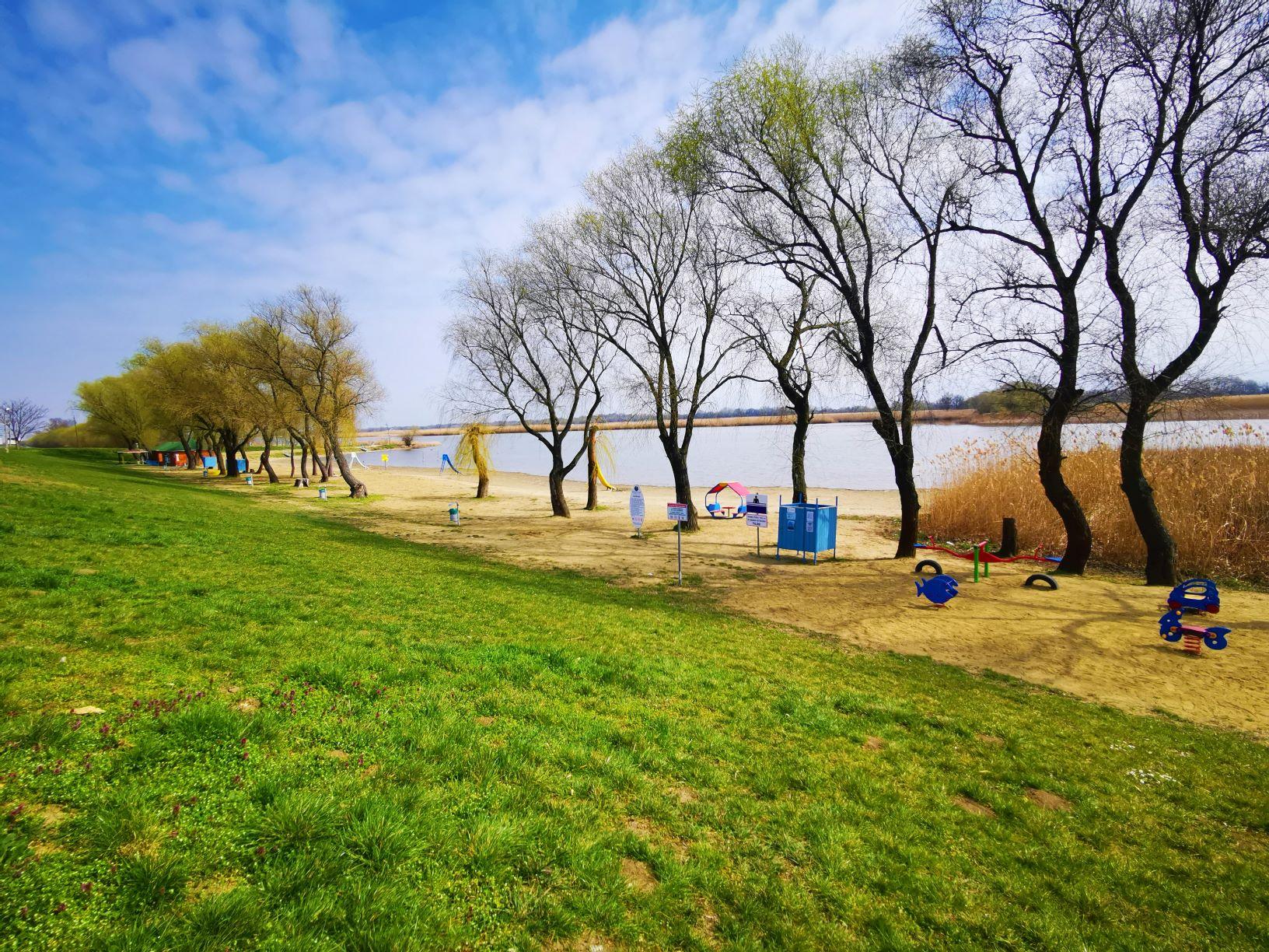 Poroszló strand Tisza-tó