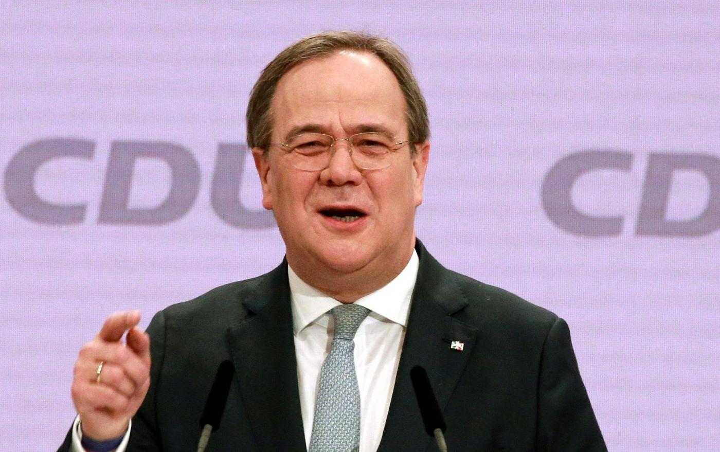 Armin Laschet, a CDU/CSU kancellár-jelöltje