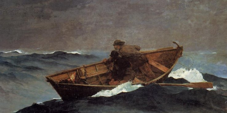 Winslow Homer: Lost on the Grand Banks