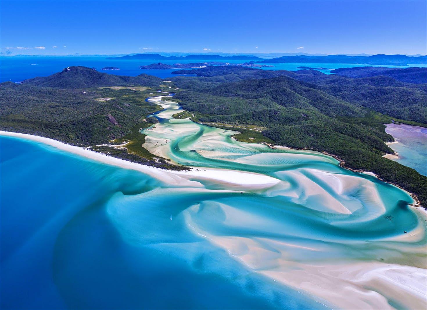 Whitehaven Beach, Ausztrália – A Karib-tenger kalózai: Salazar bosszúja (2017)