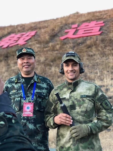 Kínai mesterlövész versenyen