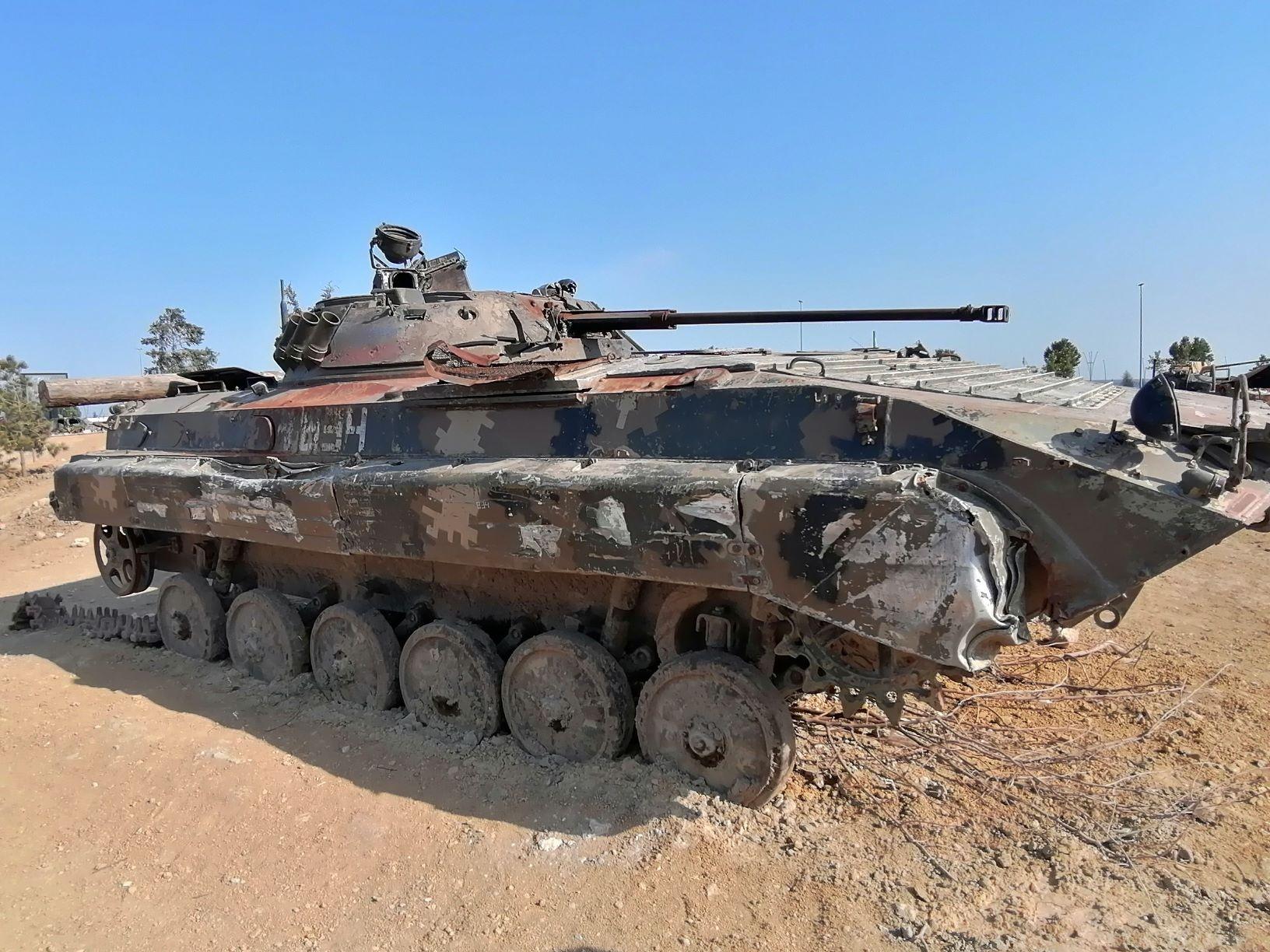 BMP-2 harcjármű