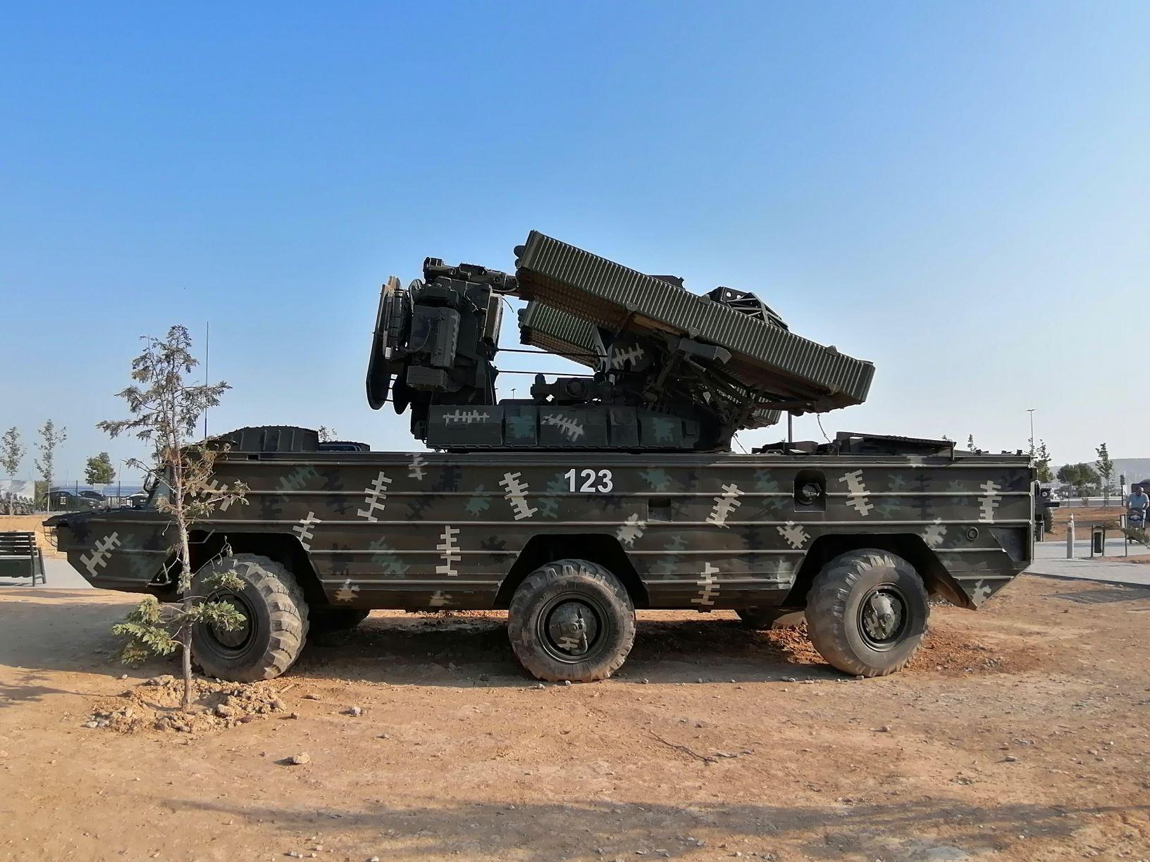 OSZA légvédelmi rakétakomplexum