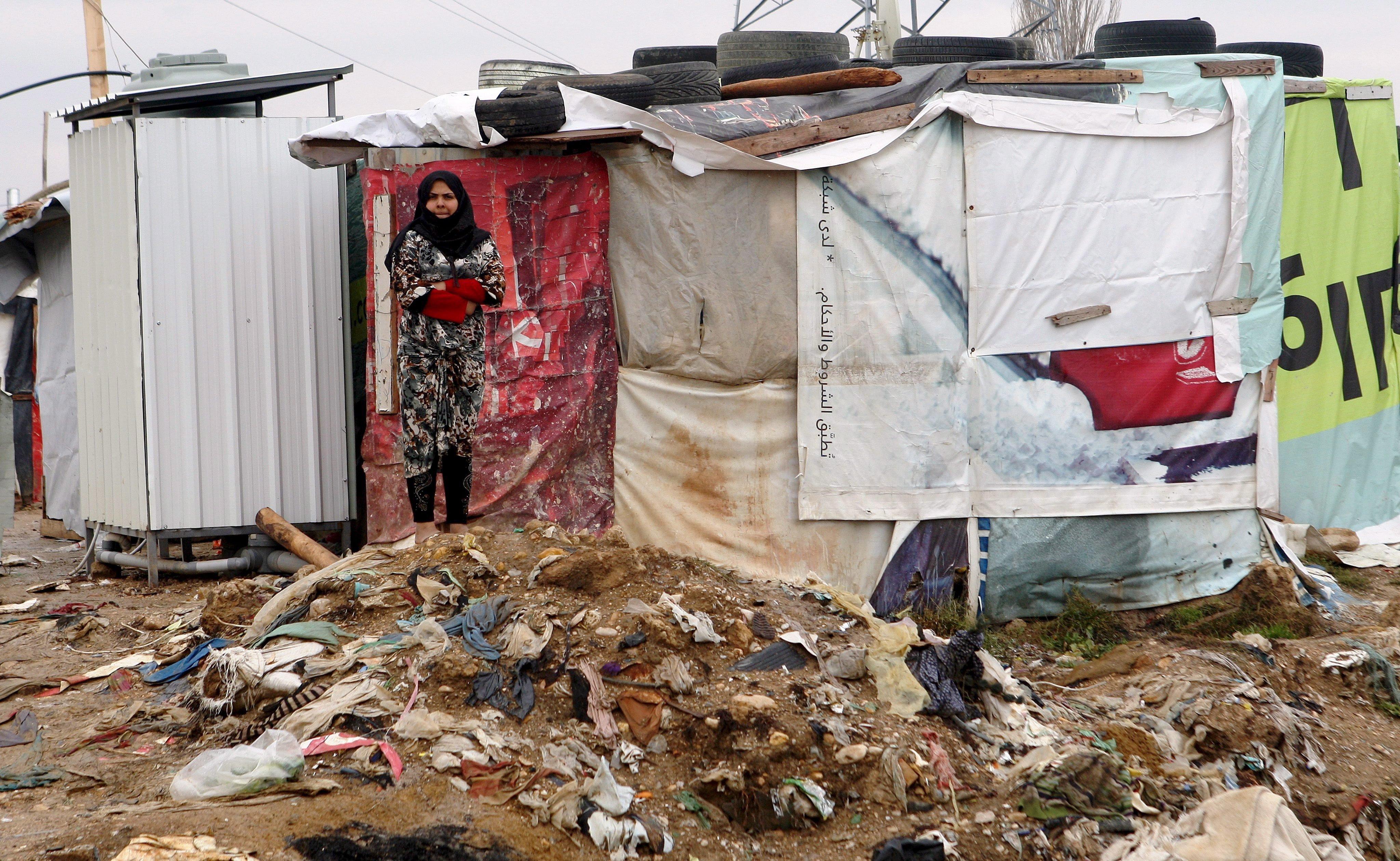 libanoni menekülttábor