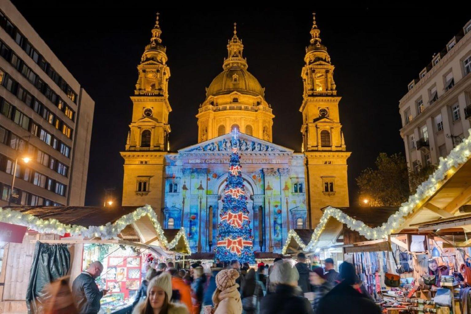 Bazilika fényfestés