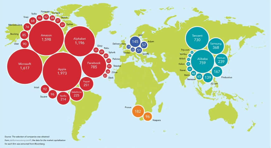 The world order of technology in 10 maps
