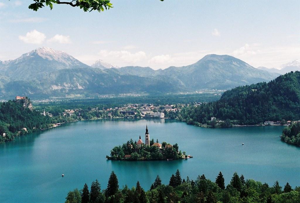 Bledi-tó, Szlovénia, tó