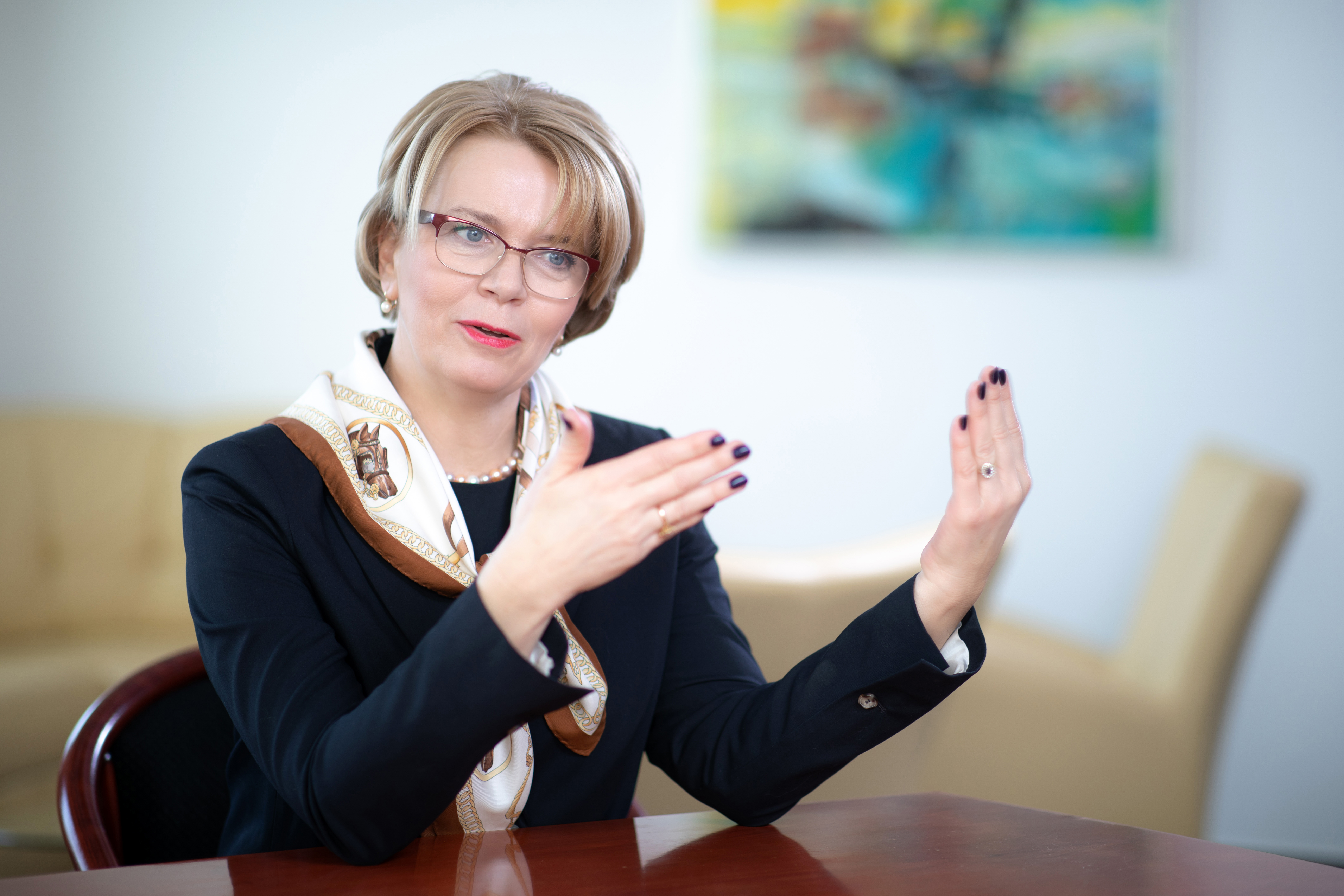 Búza Éva, a Garantiqa Hitelgarancia vezérigazgatója